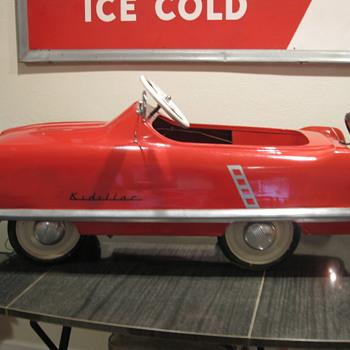 1950's Kidallac pedal car - Model Cars