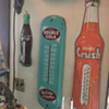 1944 Drink Double Cola thermometer