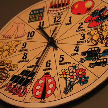 my most precious childhood memory, a clock :) - Clocks