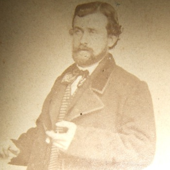 RARE Unpublished CDV of General US Grant (NOT Really) - Photographs