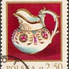 "Poland - ""Korzec Porcelain"" Postage Stamp"