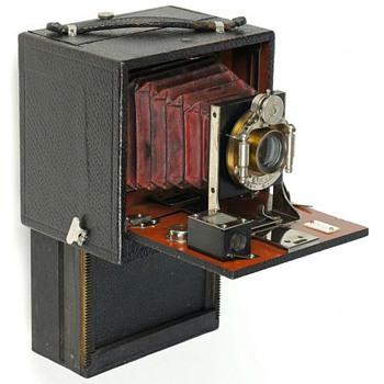 Chase Folding Magazine Camera – c.1899 - Cameras