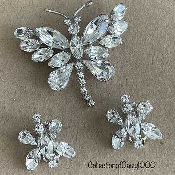 Sherman Clear Butterflies for the Last Month of Summer - Costume Jewelry
