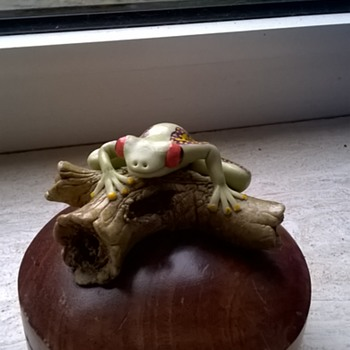 Froggy Wooden Trinket Box - Animals
