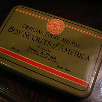 Boy Scouts First Aid Kit
