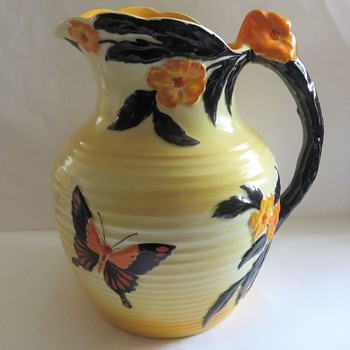Canton Pottery Falcon Ware Jug - China and Dinnerware