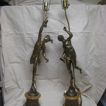 Antique lamps a Mystery - Lamps