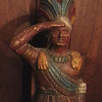 Cigar Store Indian Made by ALFCO-NY  - Tobacciana