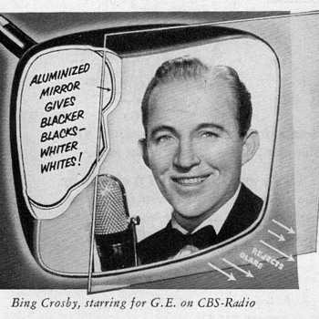 1953 - Bing Crosby for General Electric - Advertisement - Advertising