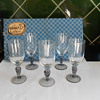 Vintage liquer/sherry glasses