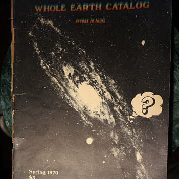 Spring 1970 Issue of the Whole Earth Catalog