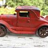 ARCADE cat iron toy car