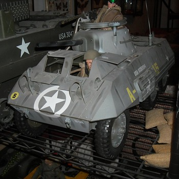 GI Joe M8 Greyhound Light Armored Vehicle - Toys