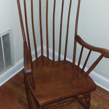 S.Bent&Bros Rocking Chair - Furniture