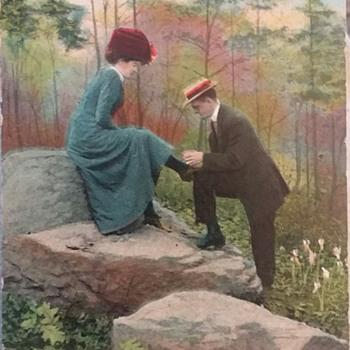 Tie my shoe - Postcards
