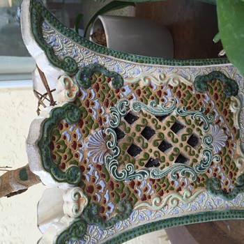 My Favorite Chinese Planter with Reticulated panels - Asian