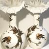 """Riedel Large Japonisme Bird Vases 14"""""""