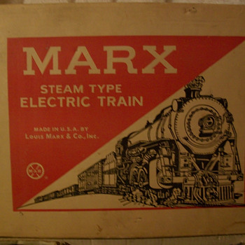 Marx New York Central trainset - Model Trains