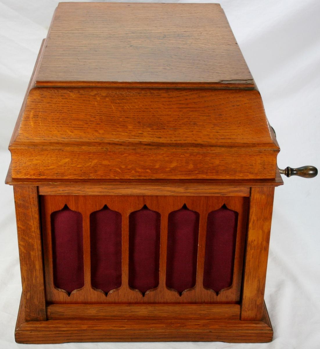 Vinatge Original Oak Thomas Edison Amberola 50 Cylinder Phonograph Collectors Weekly