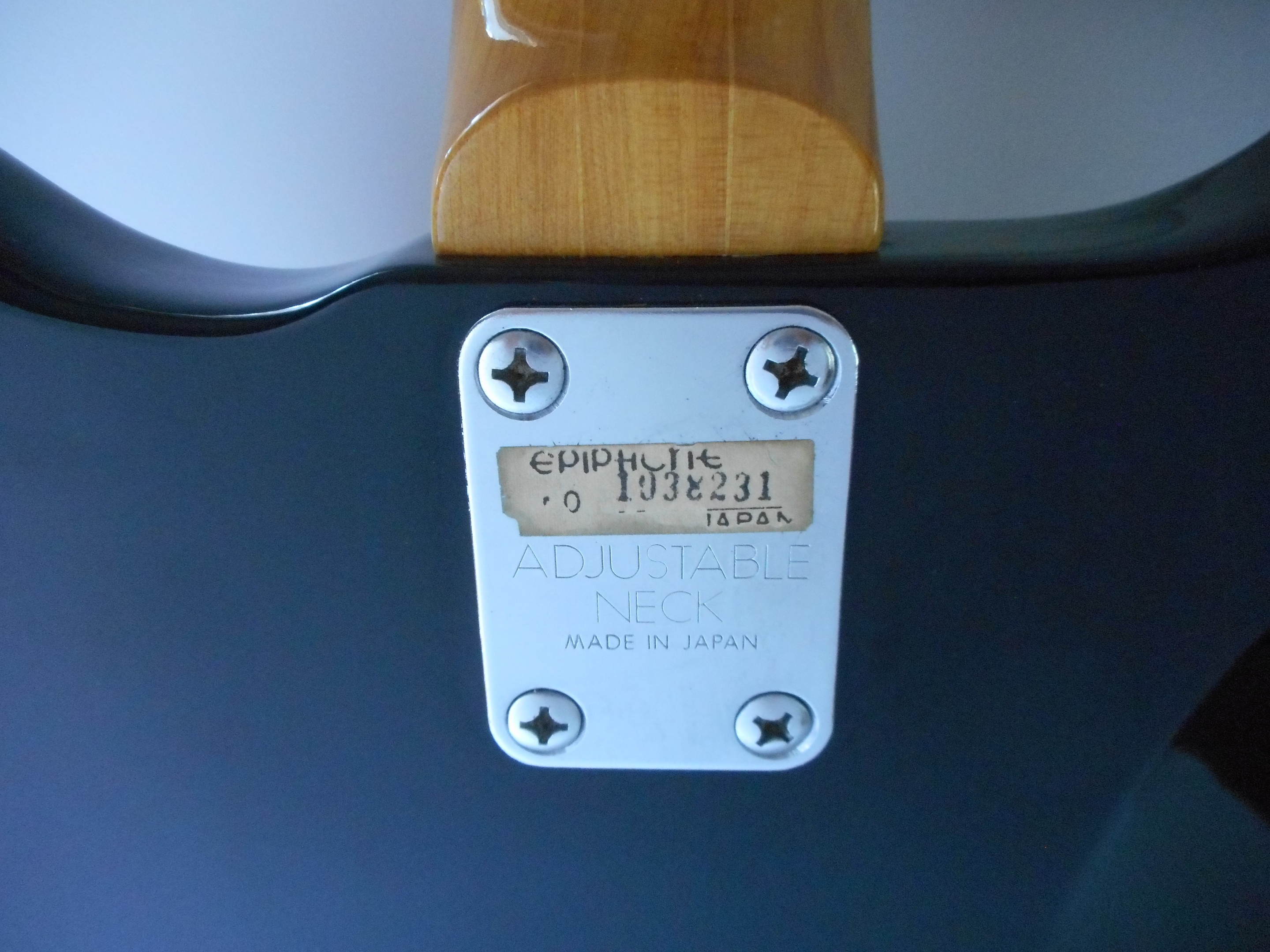 Epiphone MIJ Crestwood or Wilshire Electric Guitar