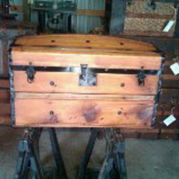 Civil War era dome top  - Furniture