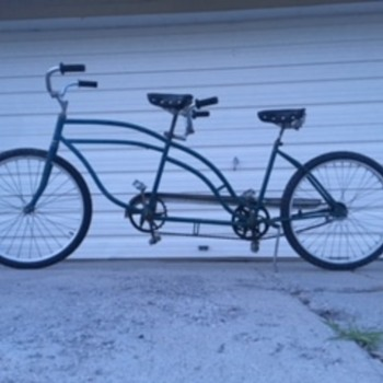 1940's mystery Tandem Bicycle - Sporting Goods