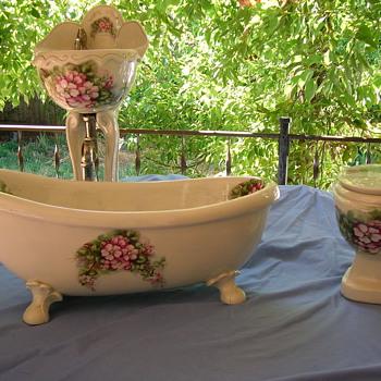 Salesman Sampler Bathroom Set