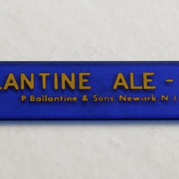 Ballantine & Rheingold Foam Scrapers - Breweriana