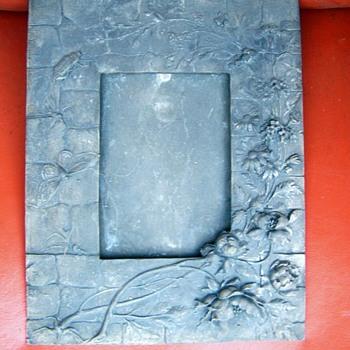 Victorian Art Nouvaeu Silver or Pewter Picture Frame ???? - Art Nouveau