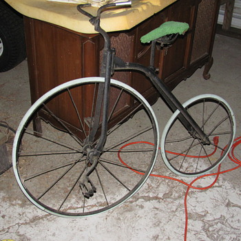 my 1800's Penny Farthing childs bicycle - Sporting Goods