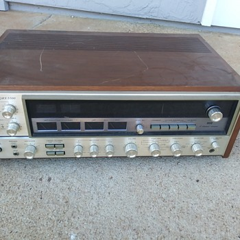 Sansui Quad Amp. - Electronics