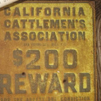 California Cattlemen's Association Antique