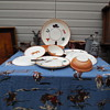 Vintage Gaetano Pottery California Western Pattern Tableware