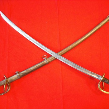 U.S. Model 1840 Style Cavalry Sabers - Military and Wartime