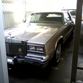 "1985 Cadillac ""Eldorado""  Touring Coupe / E & G Rolls Royce Grill and Continental Kit - Classic Cars"