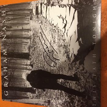 Graham Nash This Path Tonight Signed - Records
