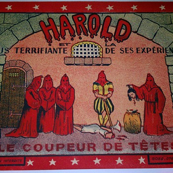 "Original ""Harold"" Stone Lithograph Poster - Posters and Prints"