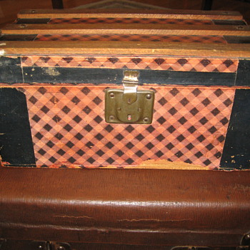 Another Antique Toy Trunk - Furniture