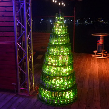Dutch Xmas tree-SXM - Art Glass
