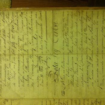 Old manuscript  - Paper