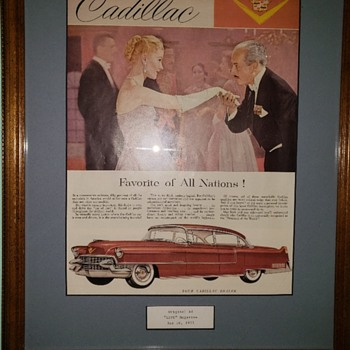 Riding long in the Caddy! - Advertising