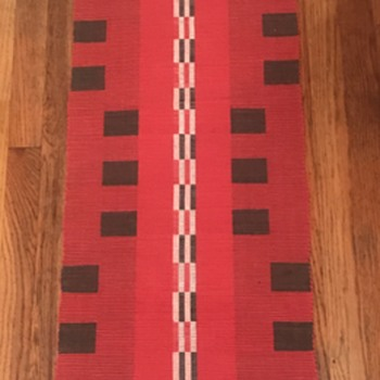 Native American weaving?  - Rugs and Textiles