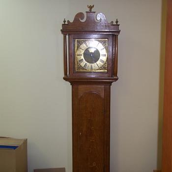 pre 1800's w.m.hawes longcase - Clocks