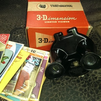 Sawyers view finders including model b rare uk. and several reels - Toys