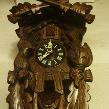 Antique German Black Forest Cuckoo Clock - Clocks