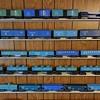 Marx Trains Blue Postwar Freight Cars