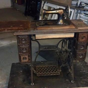 Singer Sewing Desk - Sewing