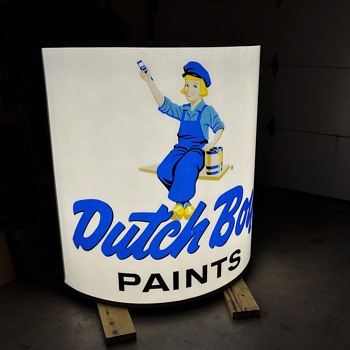 Cool Dutch Boy sign! - Signs