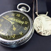 1929 Zep pocket watch & watch fob