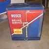 rusco engineered metal display cabnet